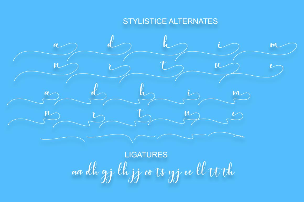 Aleysia Script example image 8