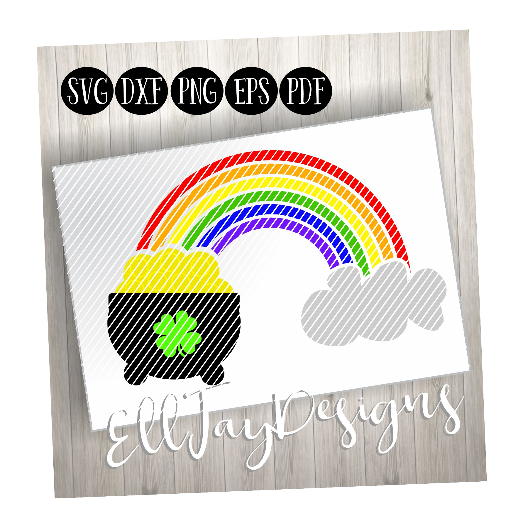 Gold at the End of the Rainbow example image 1