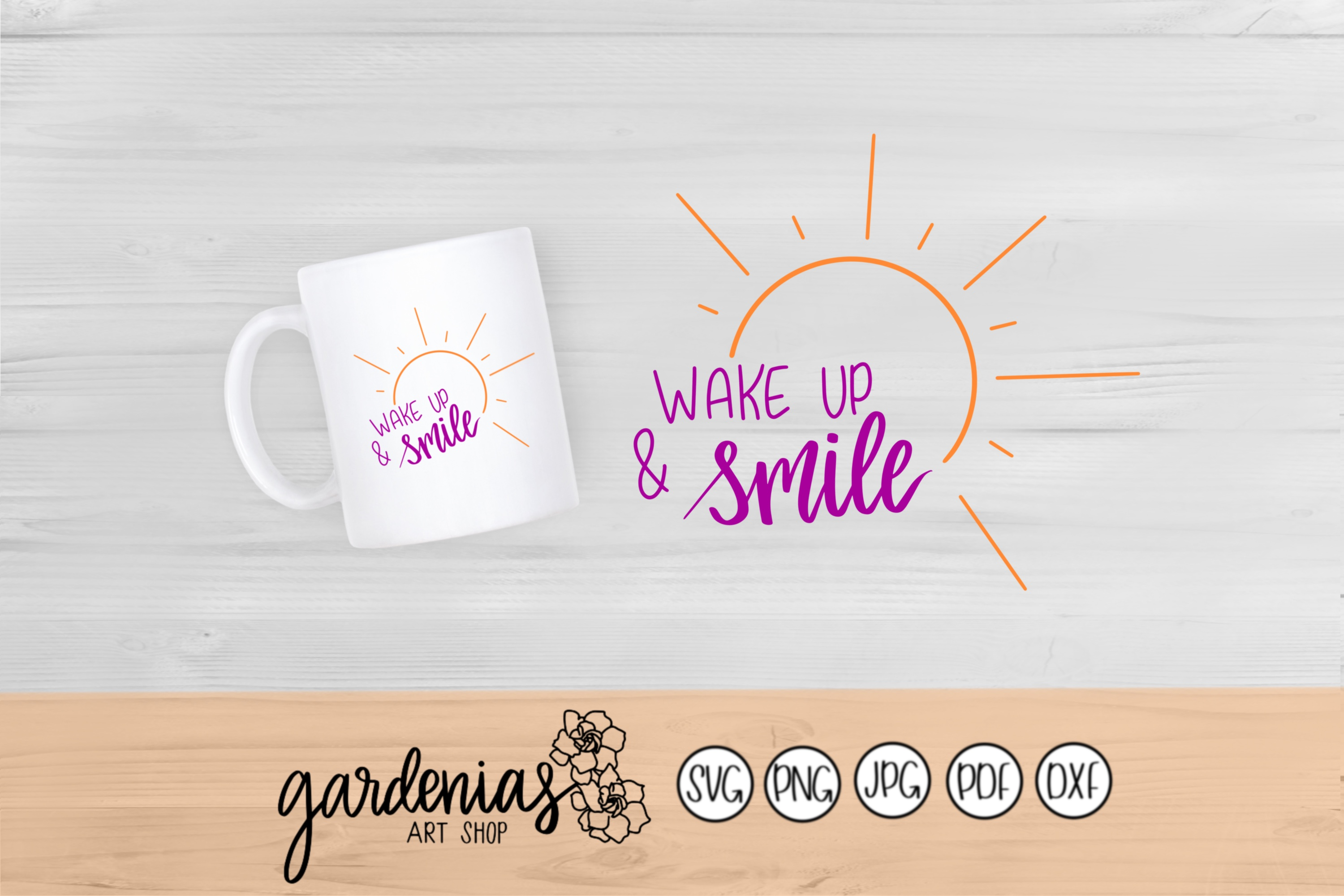 Wake Up and Smile example image 1