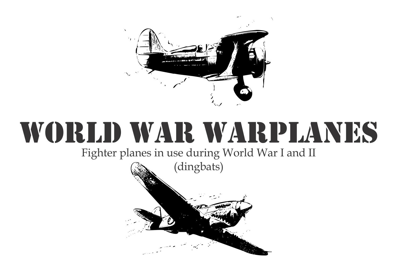 World War Warplanes example image 1