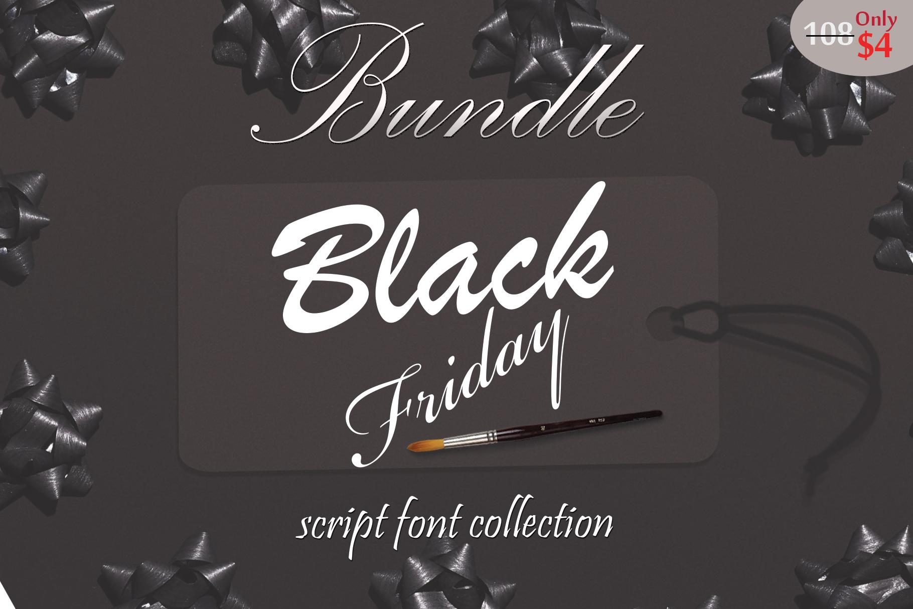 Black Friday FontBundle example image 1