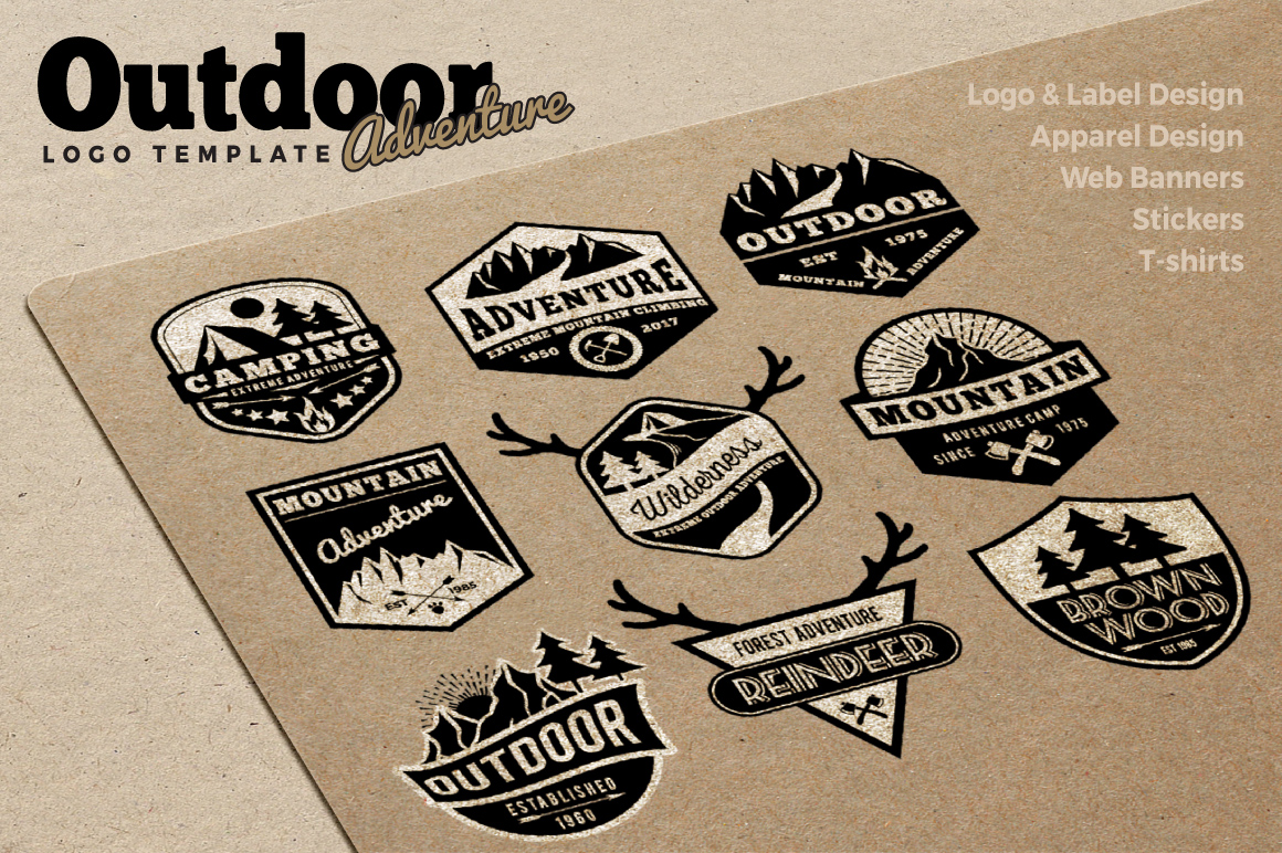 Outdoor Adventure Logo Templates example image 3