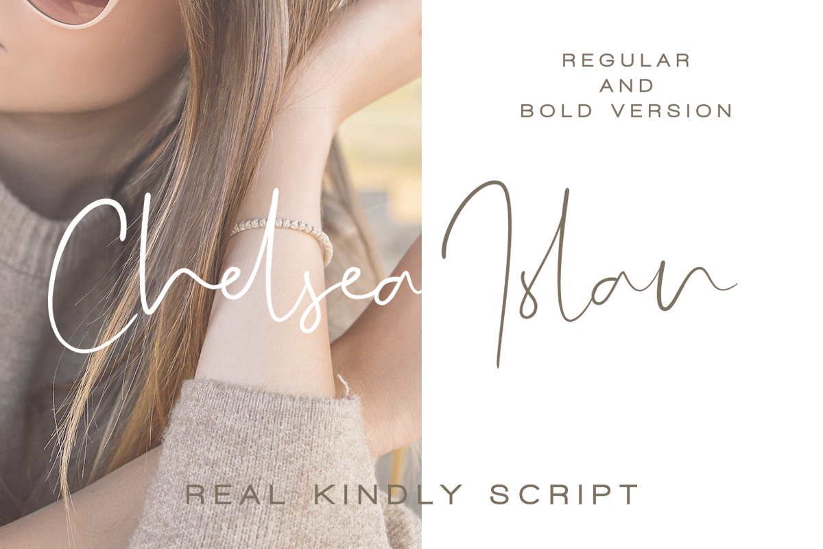 Real Kindly - Elegant Script example image 10