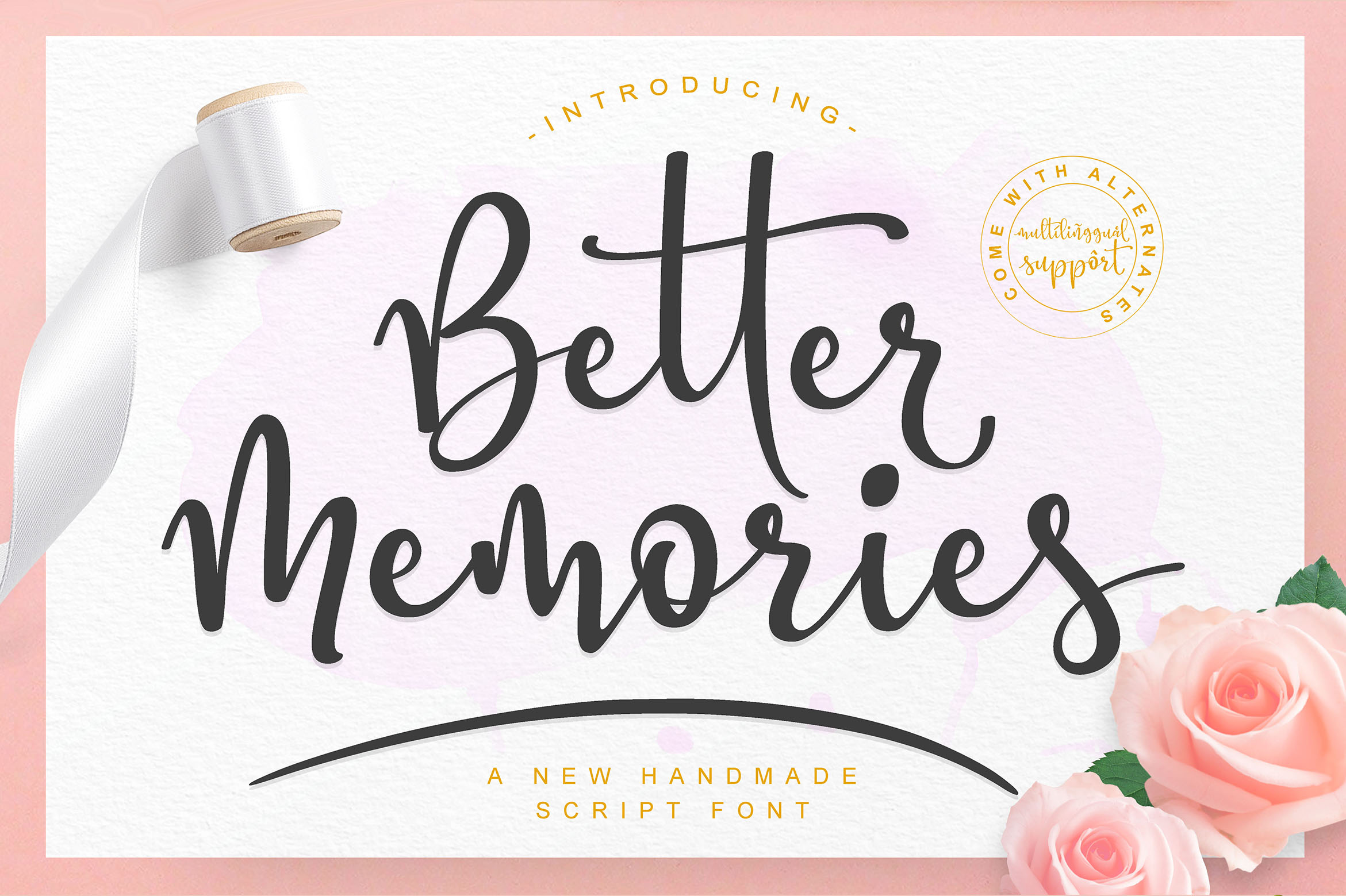 Better Memories Font example image 1