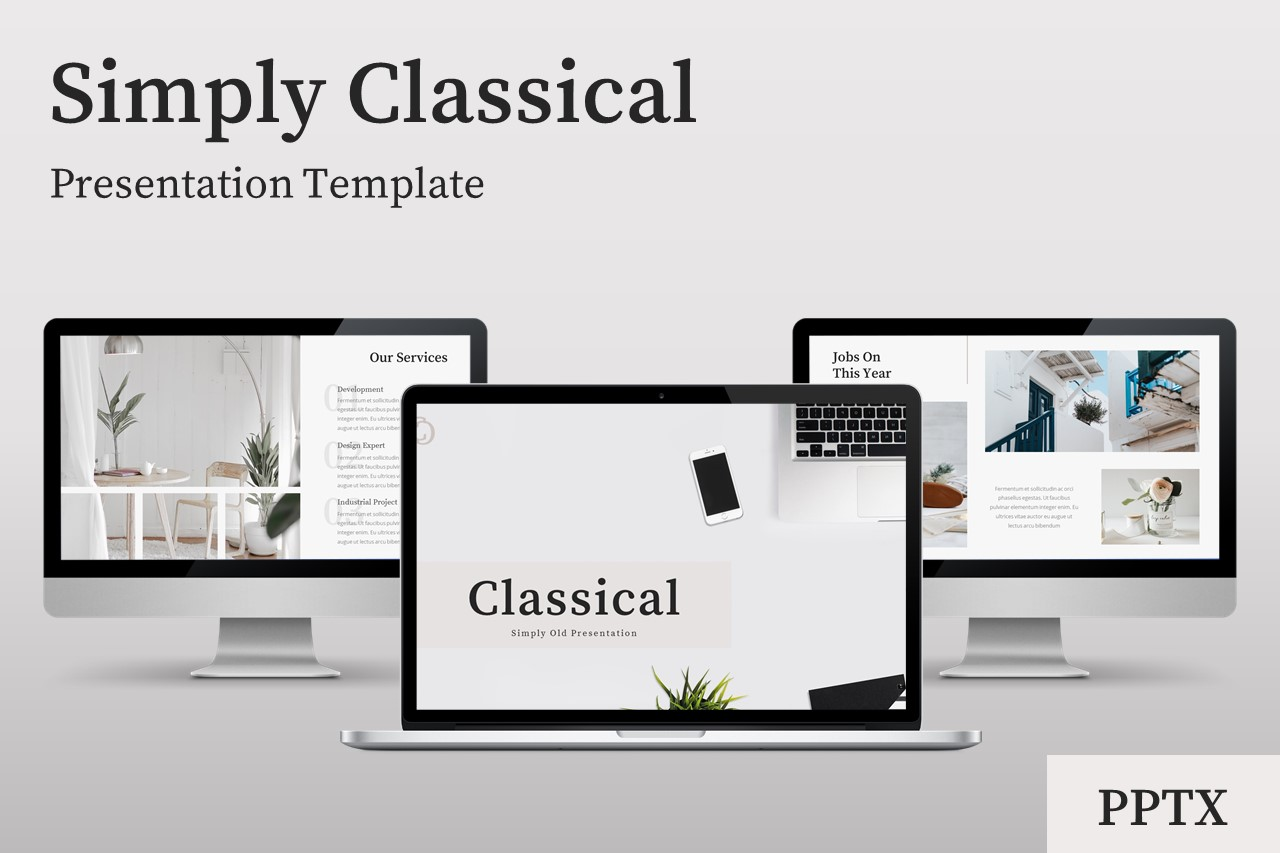 Classical - Creative Business Power Point Template example image 1