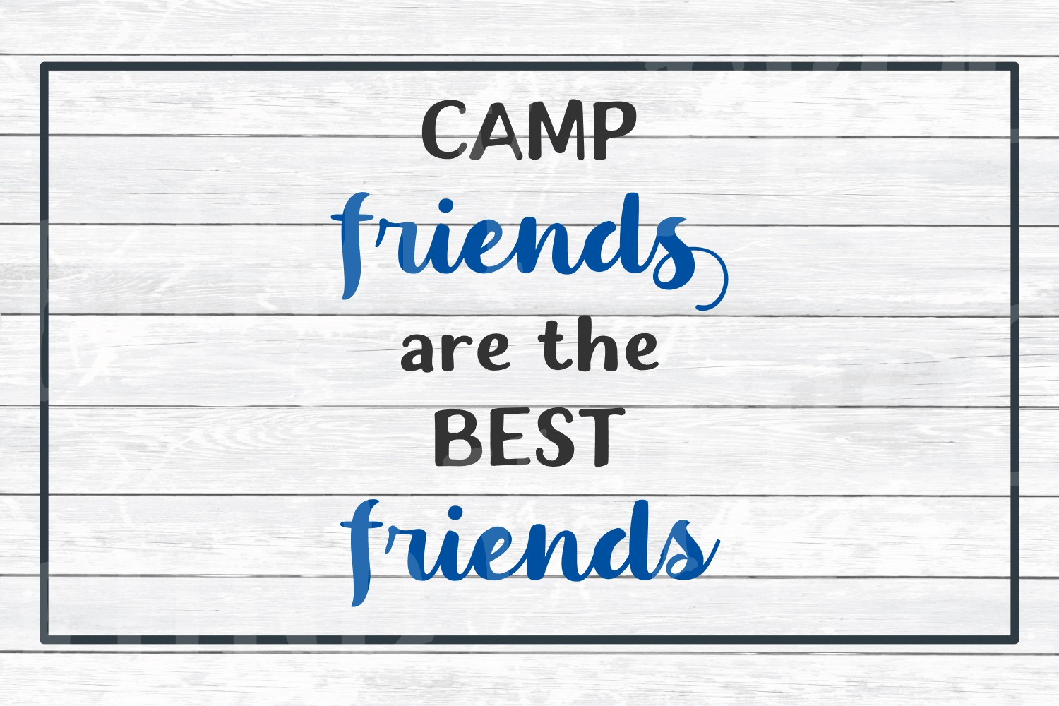 Camp Friends are the Best Friends, SVG Cut File for Crafters example image 2