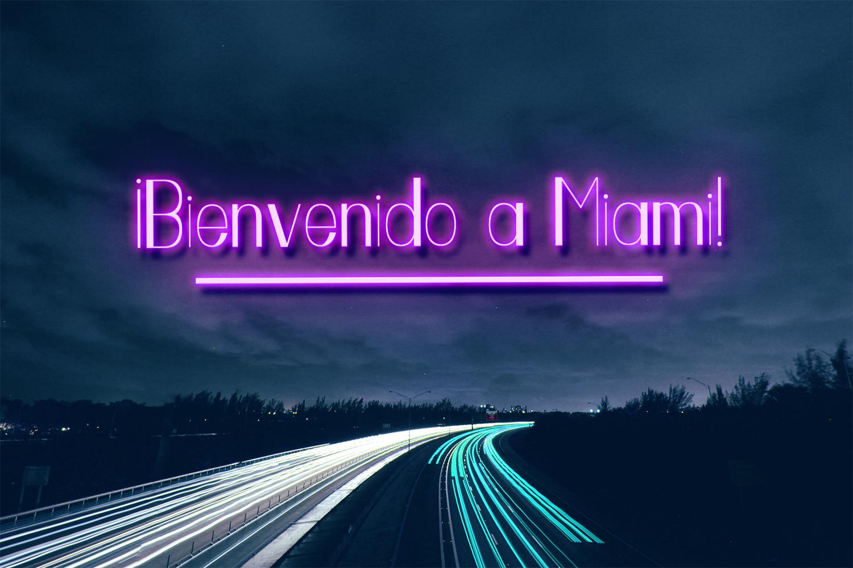 Miami Vibes Art Deco Sans Font example image 2