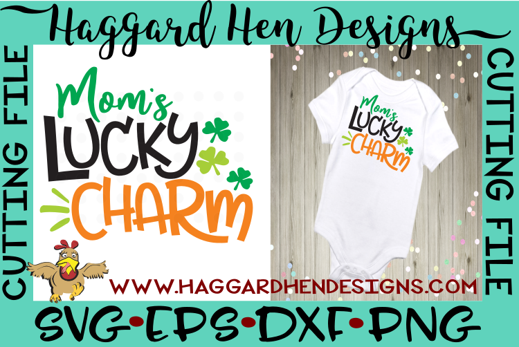 Mom's Lucky Charm SVG example image 2