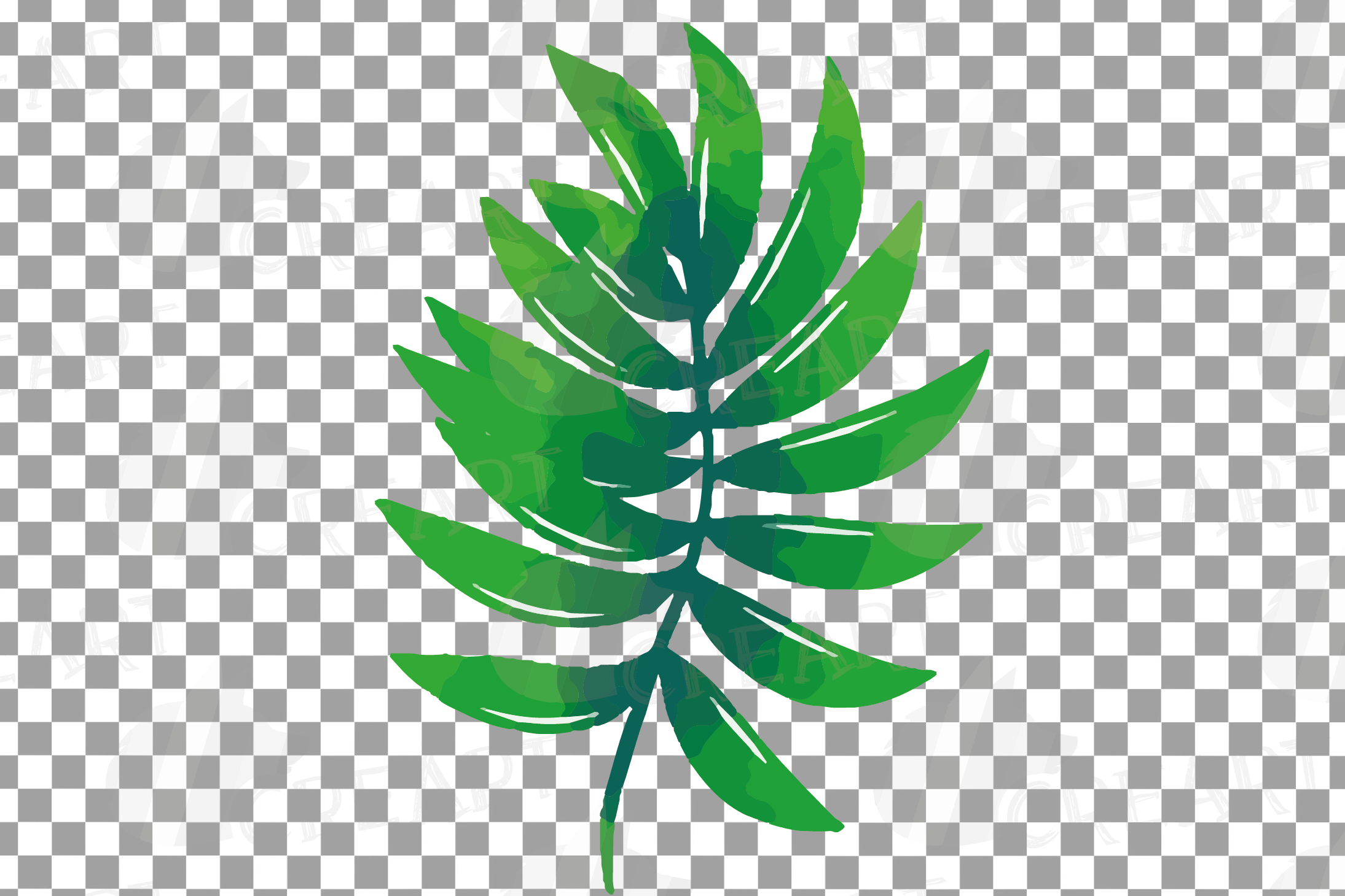 Tropical navy blue and green leaves and exotic flowers example image 29