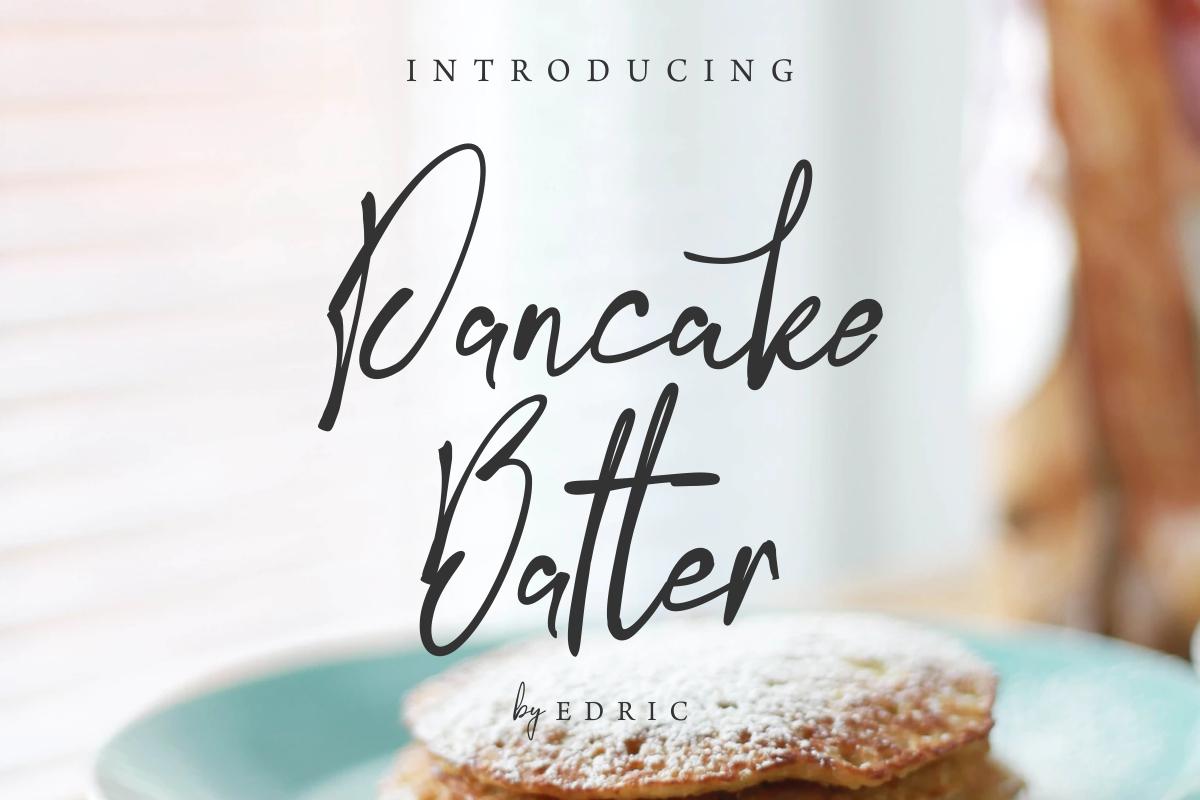PancakeBatter example image 1