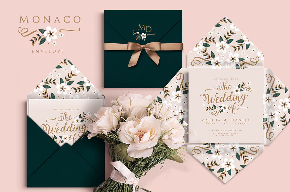 Monaco Wedding Set example image 2