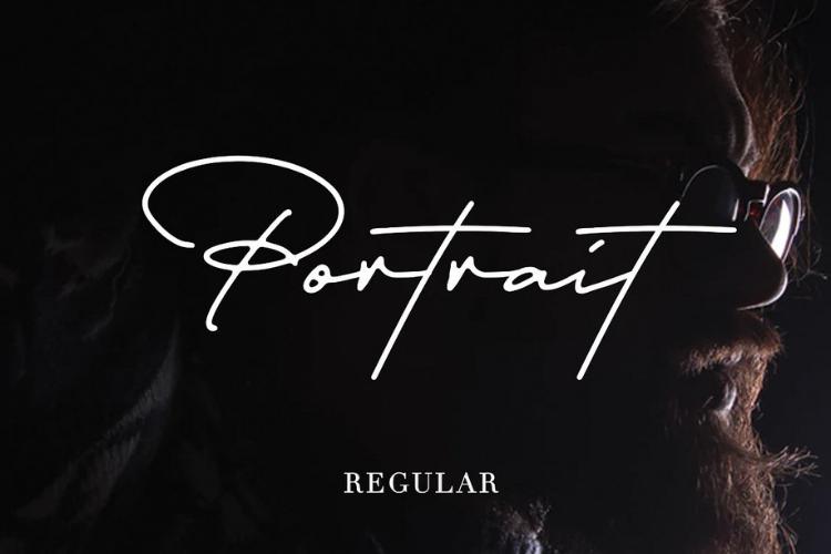 Portrait Signature Script - 6 Fonts - font bundle example image 7