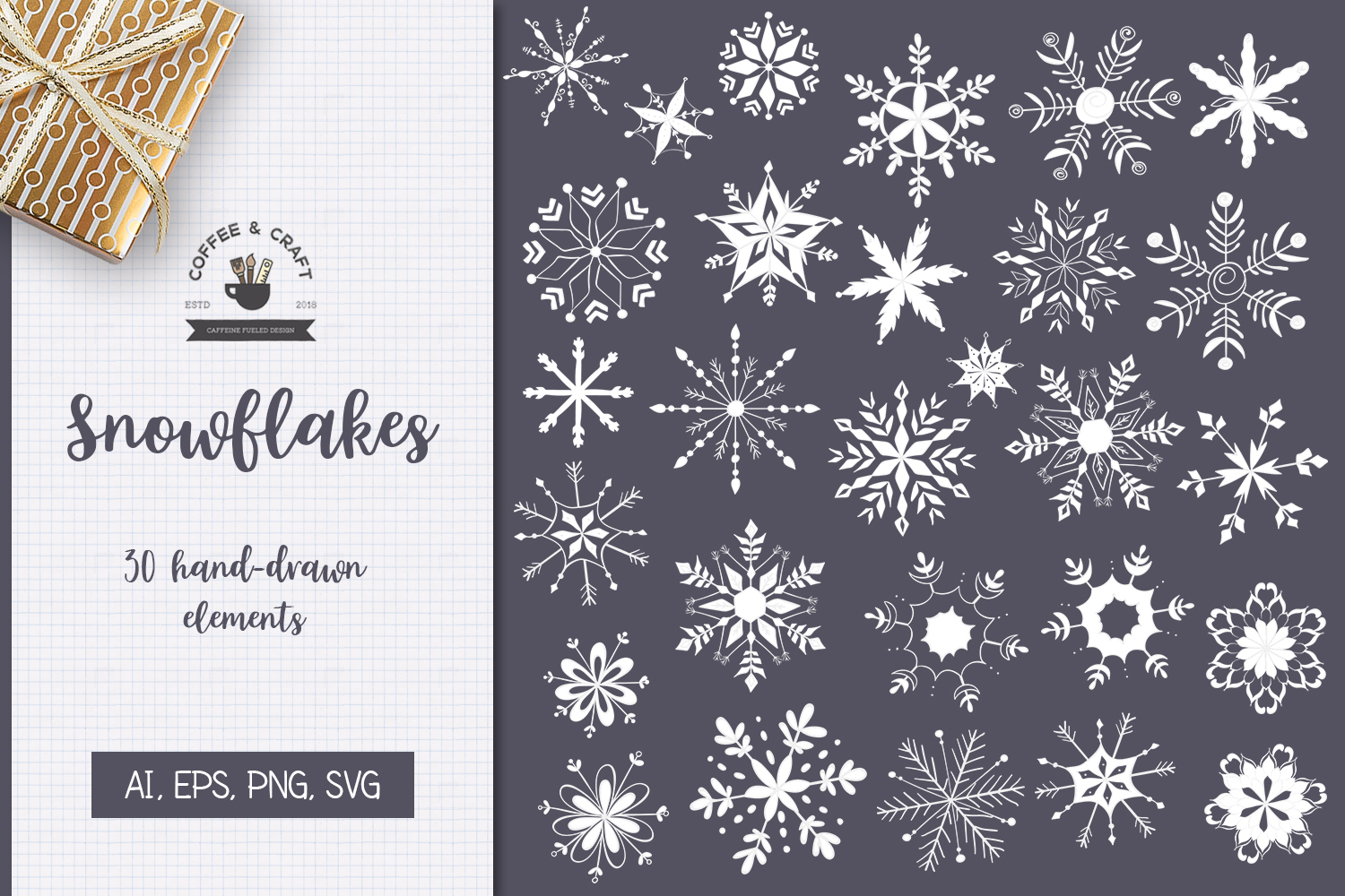 Snowflakes example image 1