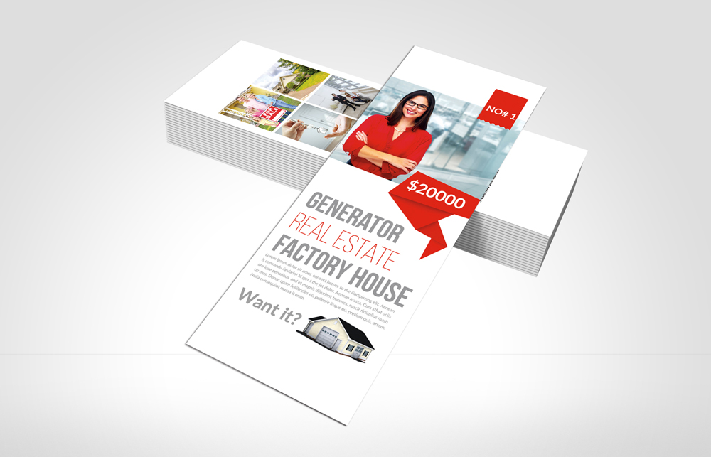Real Estate Rack Card Template example image 3