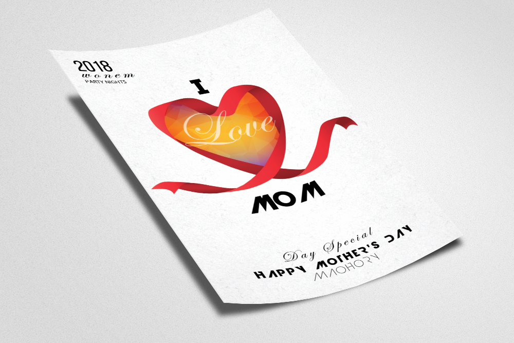 Mothers Day Flyer example image 2