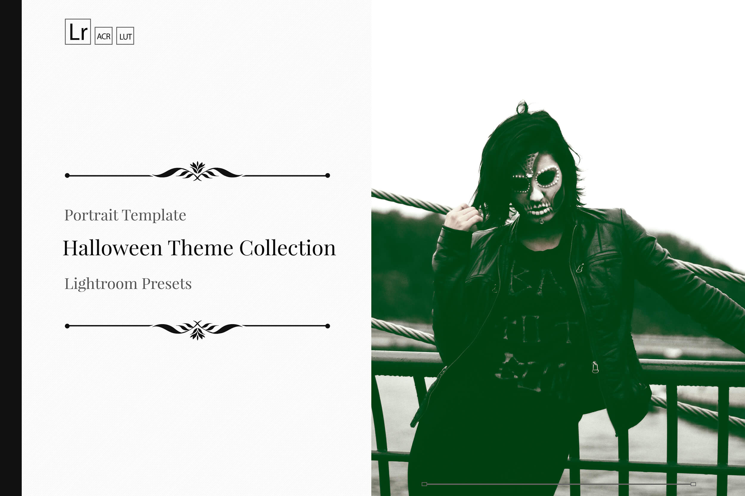 Halloween Theme Collection Color Grading Lightroom presets example image 1