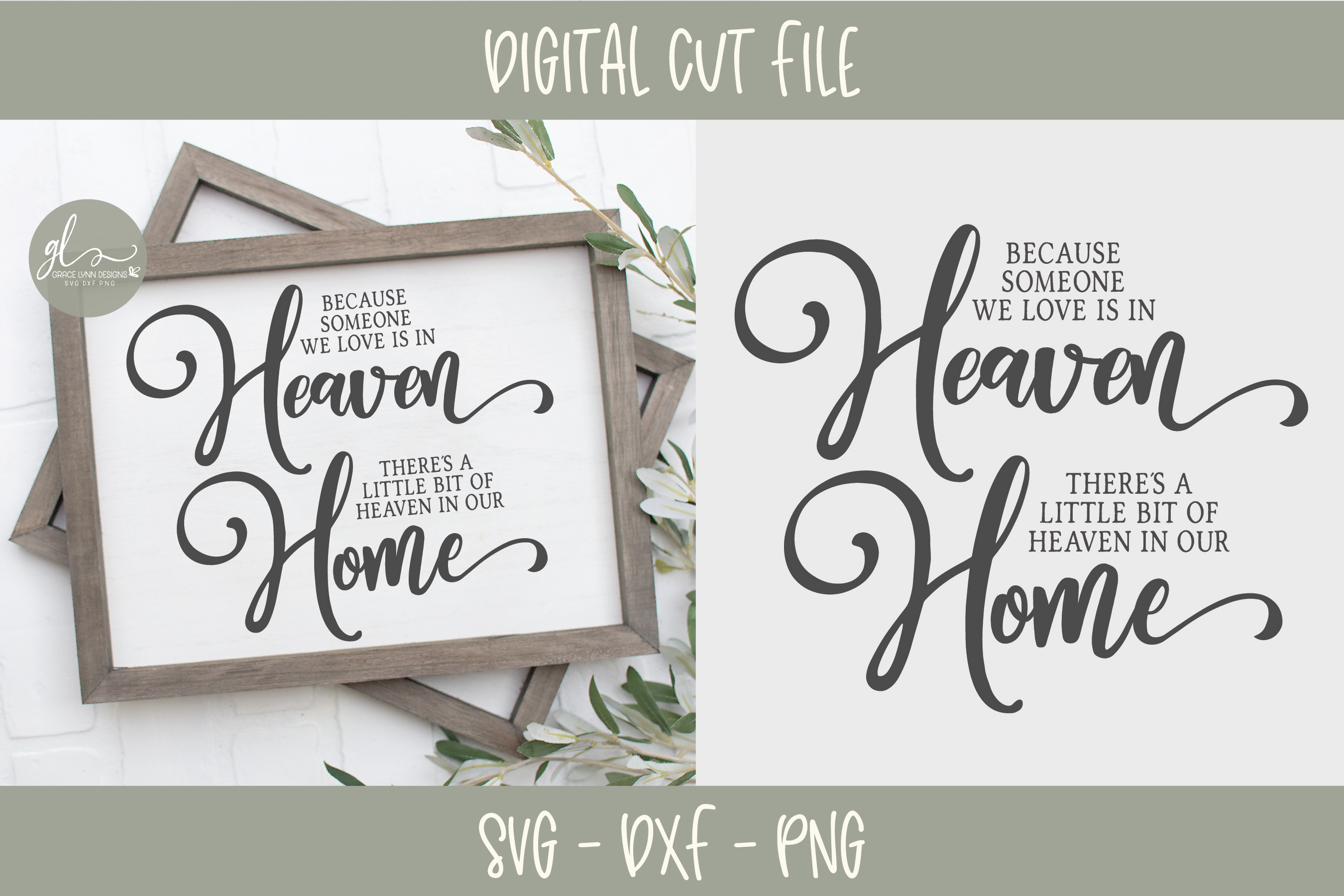 Home & Family Bundle - 10 Designs - SVG, DXF & PNG example image 3