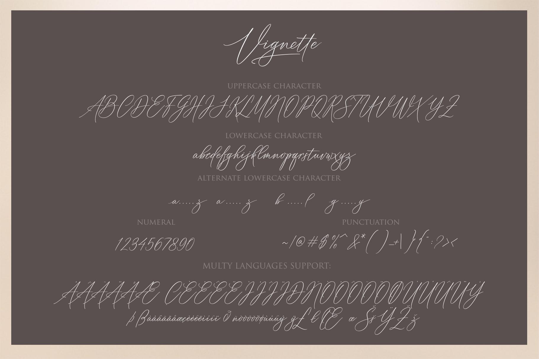 Vignette Signature Script example image 11