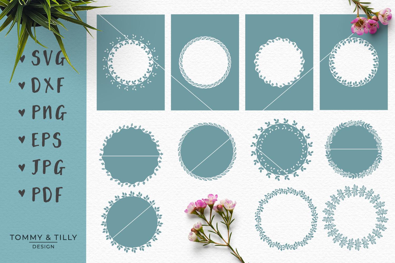 MEGA BUNDLE! Romantic Cut Files - SVG | Papercut example image 7