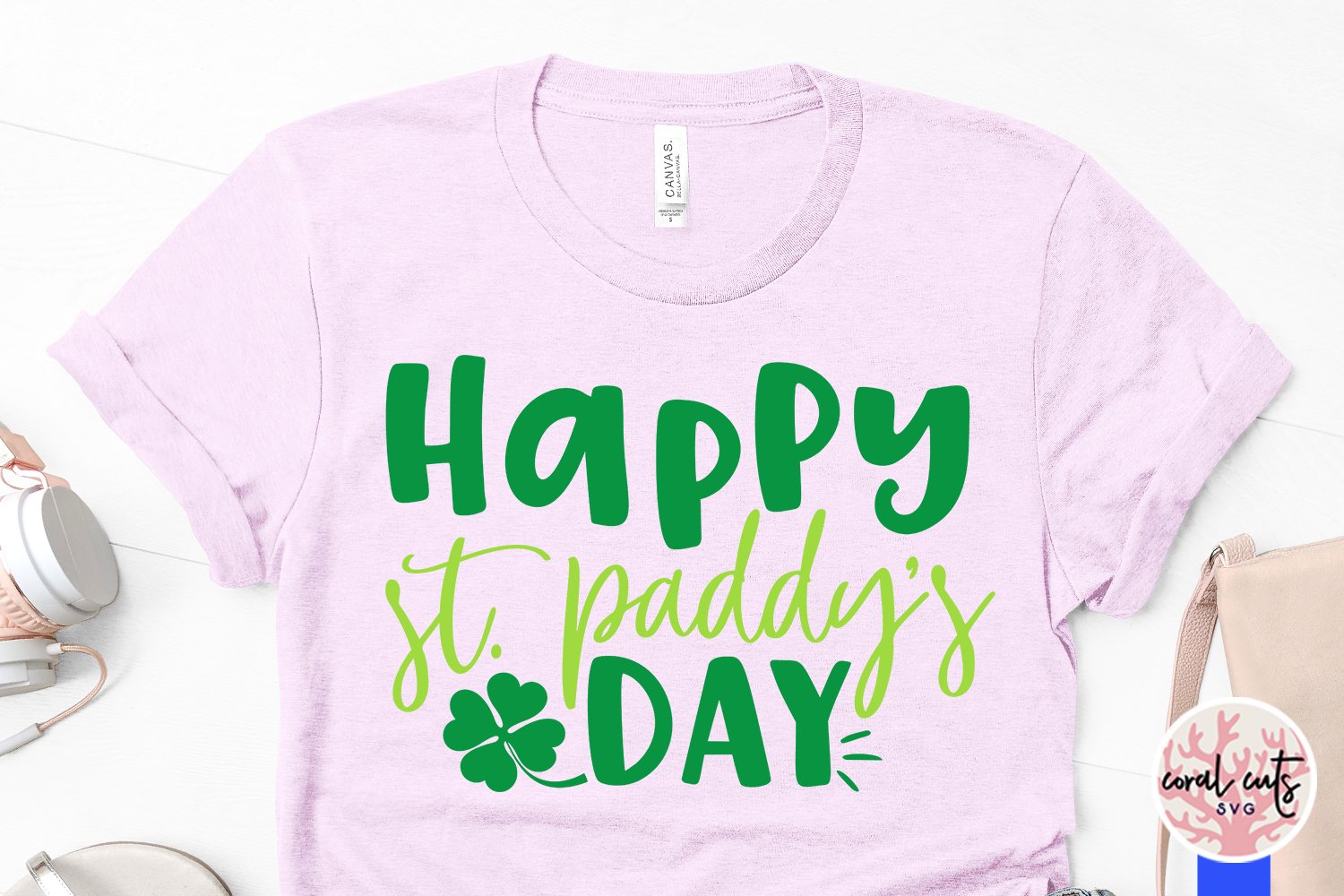 Happy st. patty's day - St. Patrick's Day SVG EPS DXF PNG example image 3