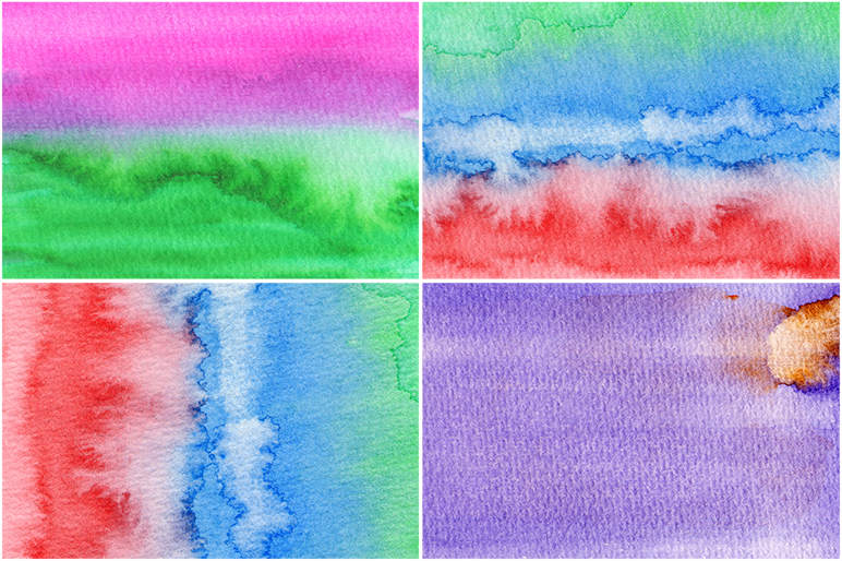 50 Watercolor Backgrounds 05 example image 5