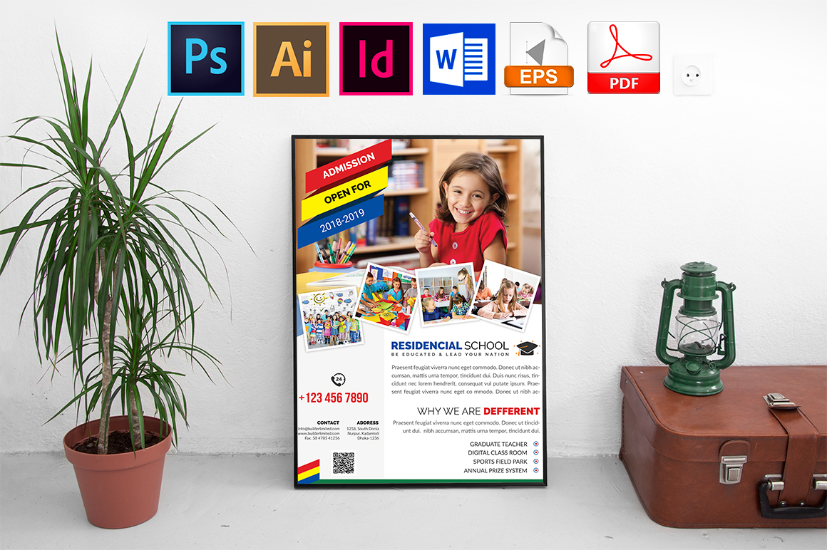 Poster | School Vol-01 example image 1