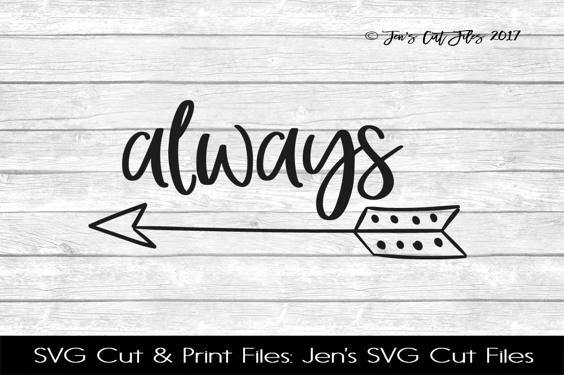 Always SVG Cut File example image 1