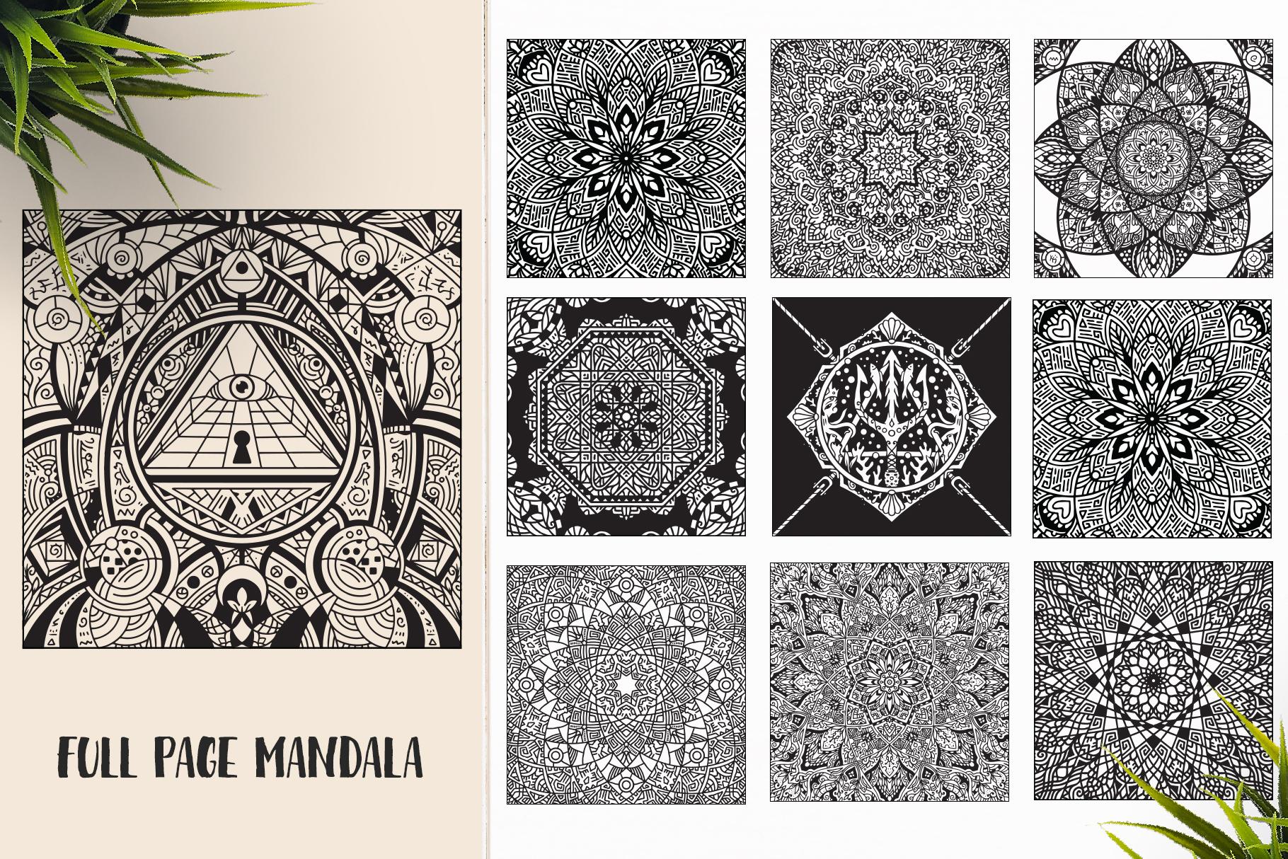 530 Vector Mandala Ornaments Bundle example image 16