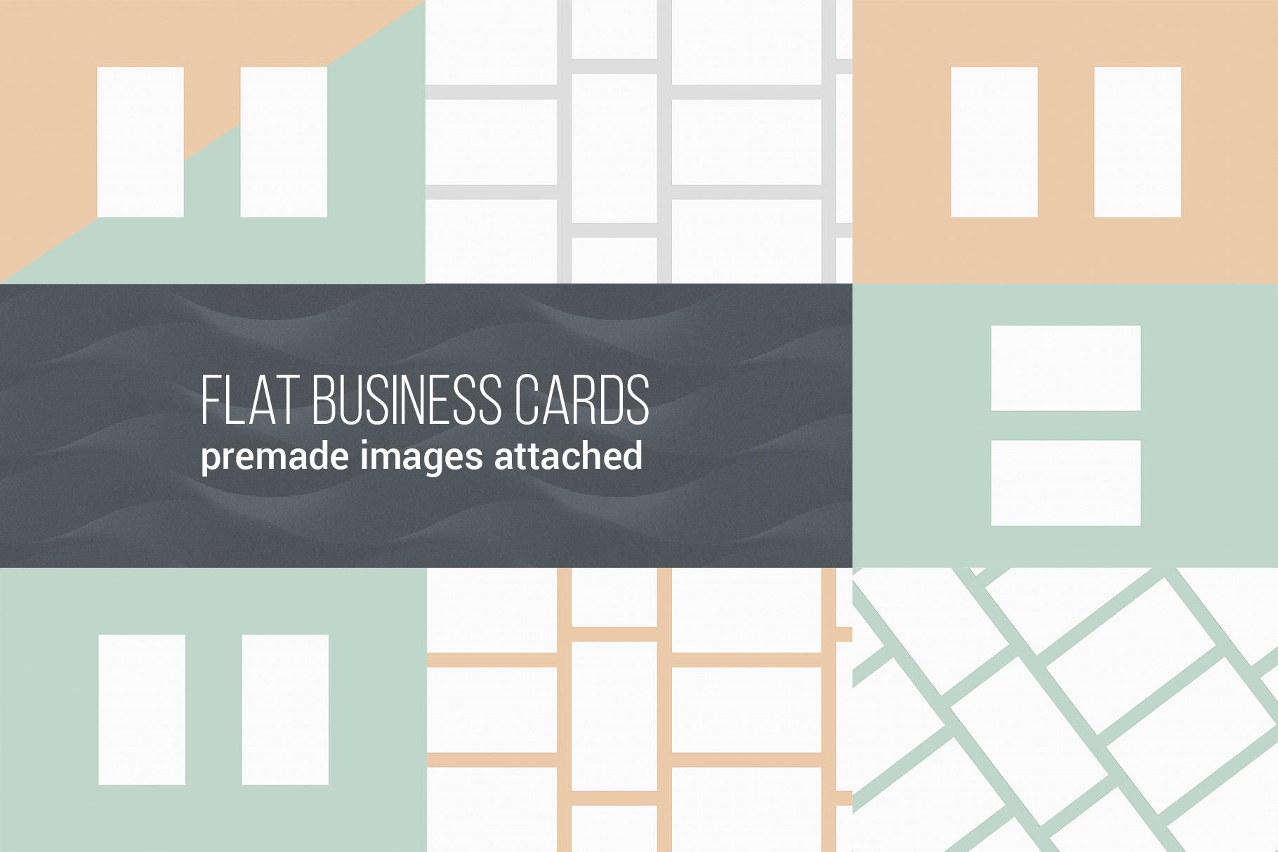 Business Card MockUps Bundle + Bonus example image 2