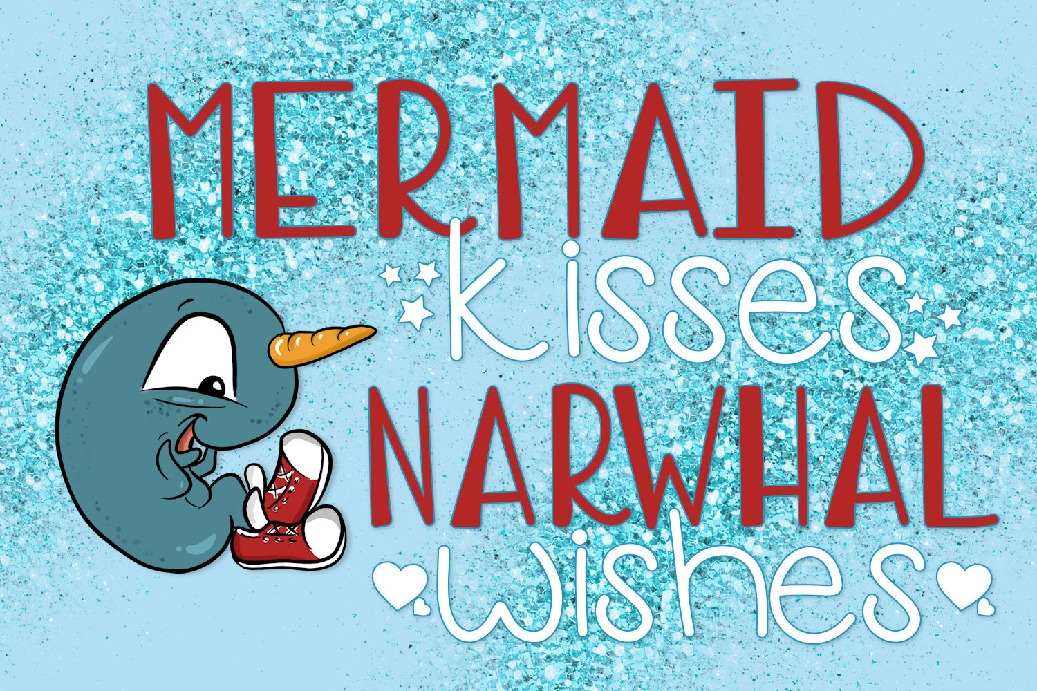 Narwhal Shoes, A Handwritten Font example image 5