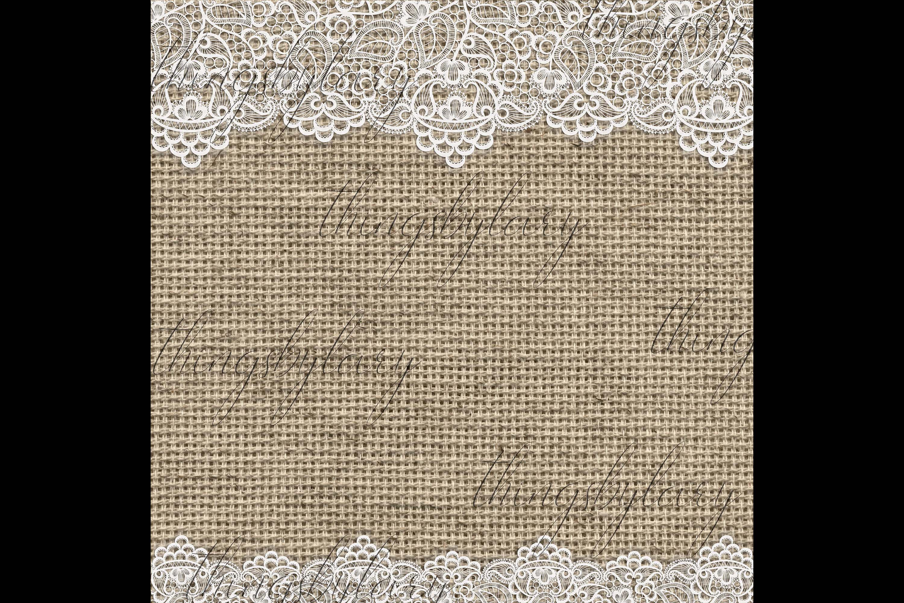 27 White Lace Border Frame Overlay Transparent Images PNG example image 5