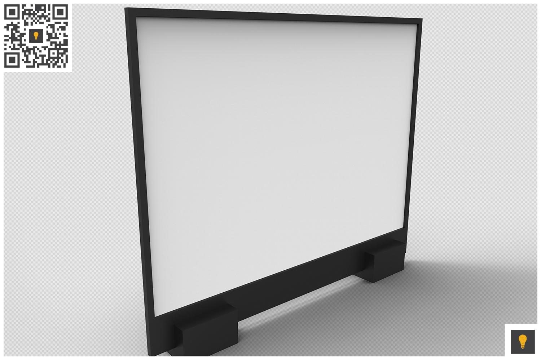 Flyer Display 3D Render example image 13
