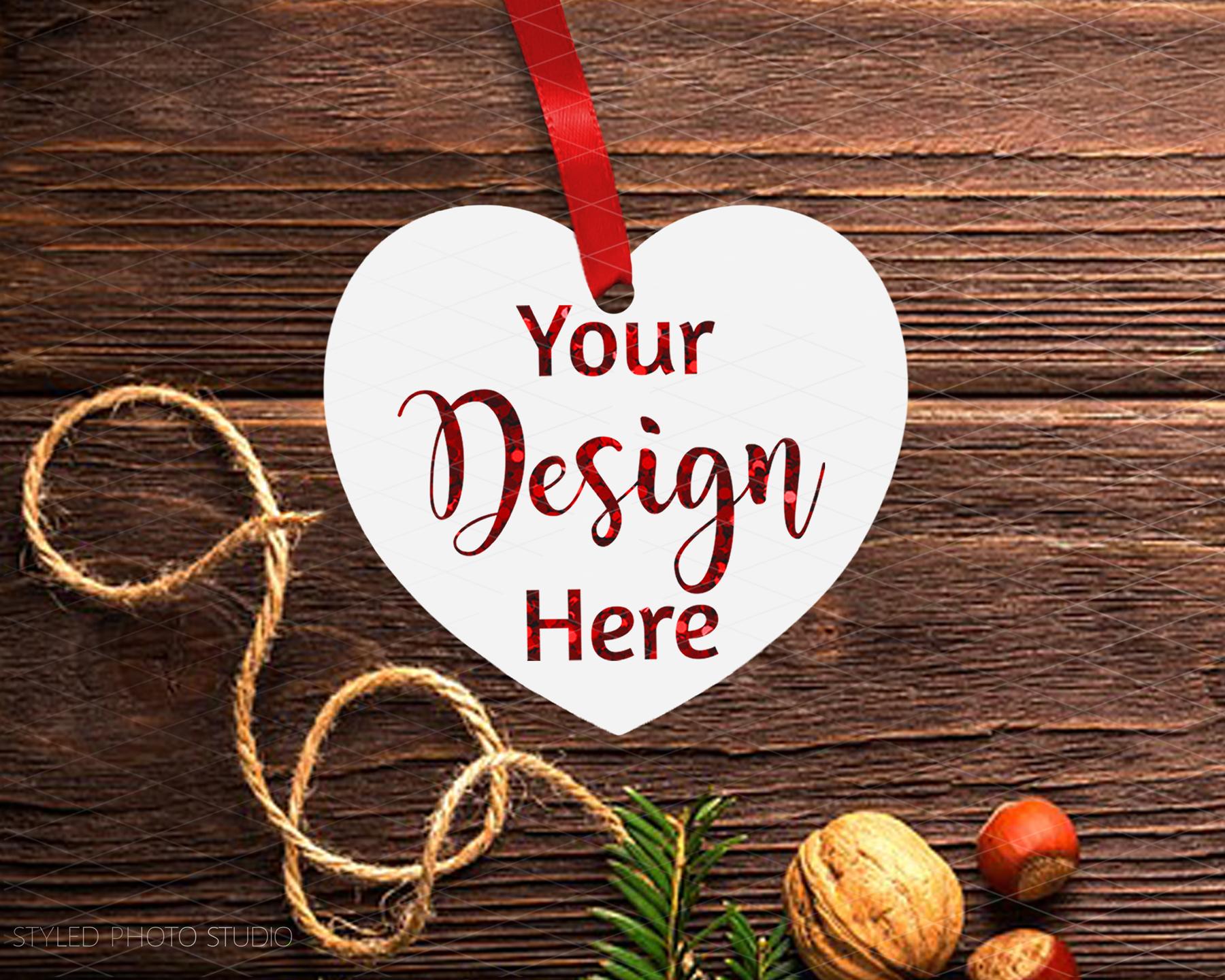 Big Christmas Mockup Bundle, Mug, Ornament, Pillows and More example image 11