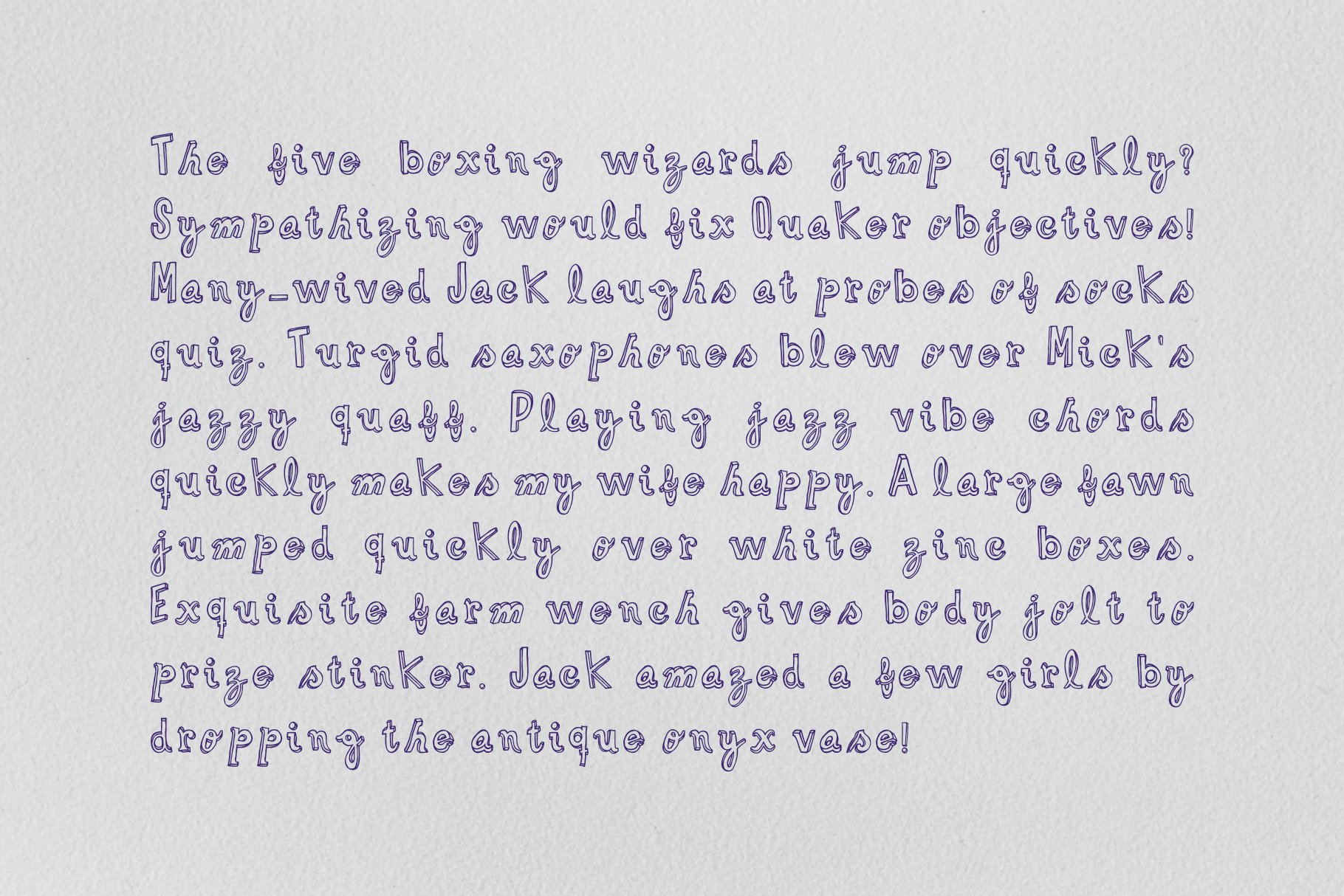 Funlet Typeface example image 4
