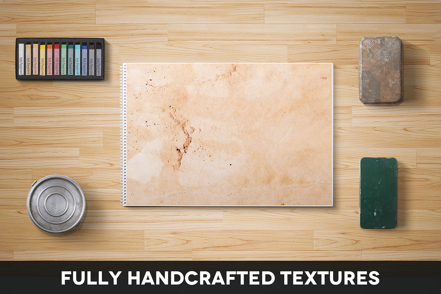 Handcrafted Vintage Paper Textures Vol. 04 example image 2