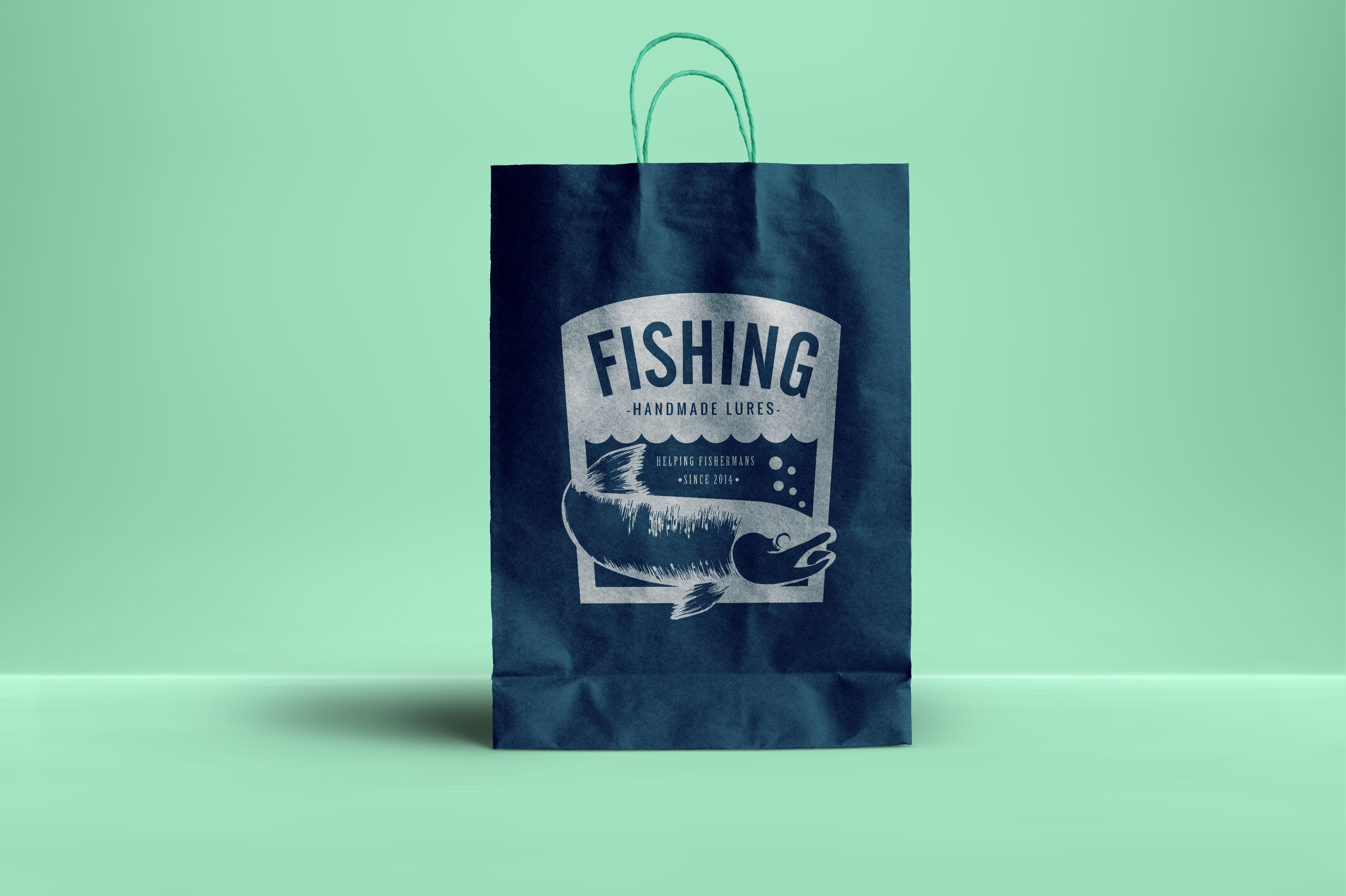Fishing Vintage Badges Logos / Fish Logo / Vintage Fish Logo example image 3