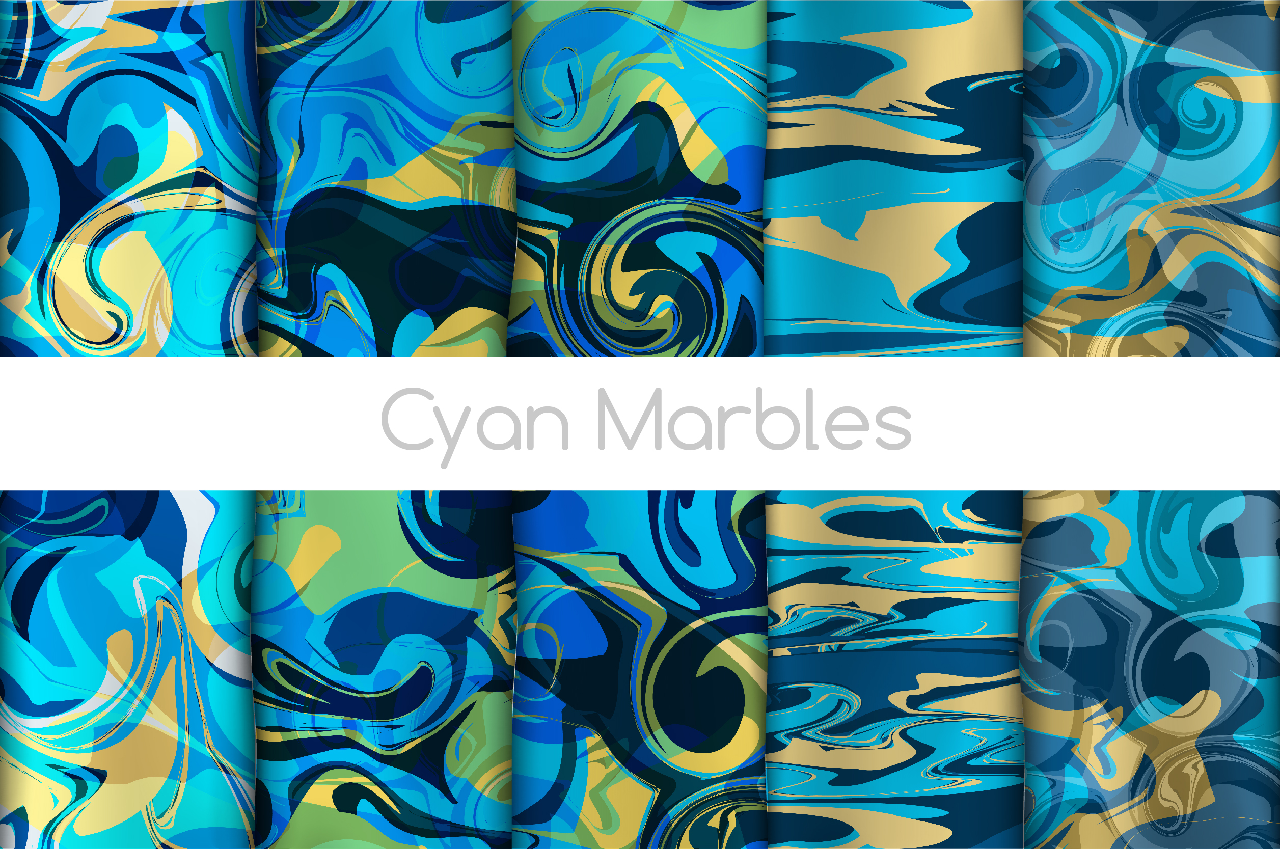 The BIGGEST Marbled Paper Collection example image 7