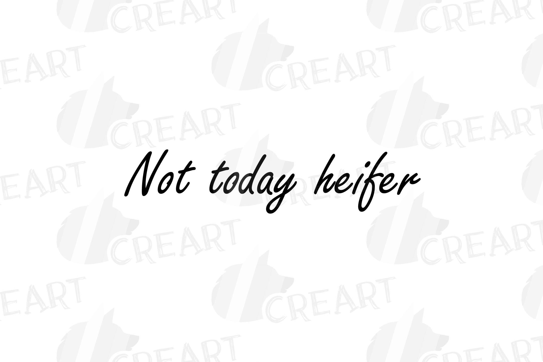 Cows with floral crown clip art. Not today heifer graphic example image 18