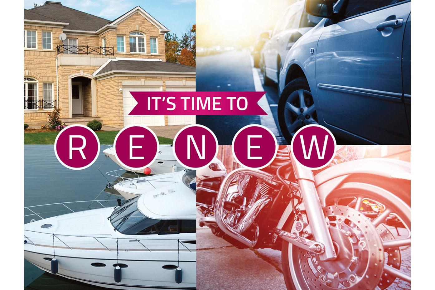 Insurance Renewal Postcard Template example image 4