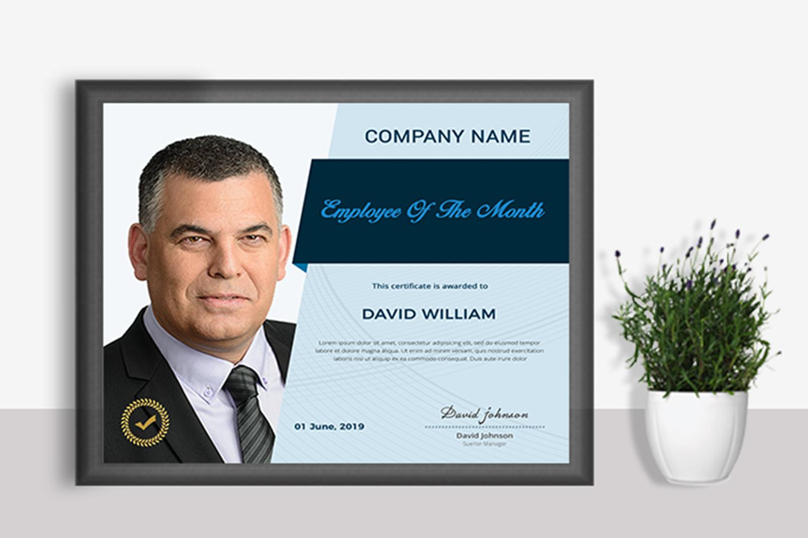 Employee Certificate example image 2