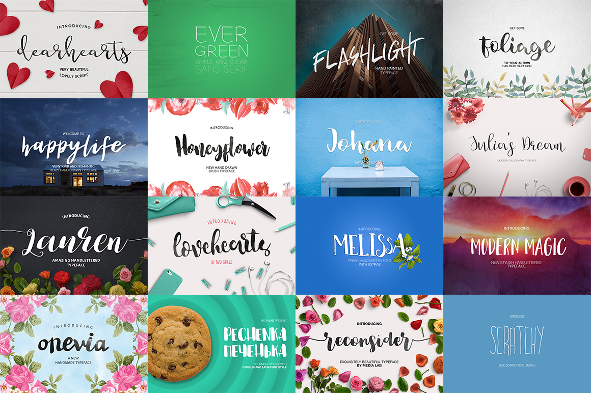 109 in 1 BEST FONT BUNDLE example image 3