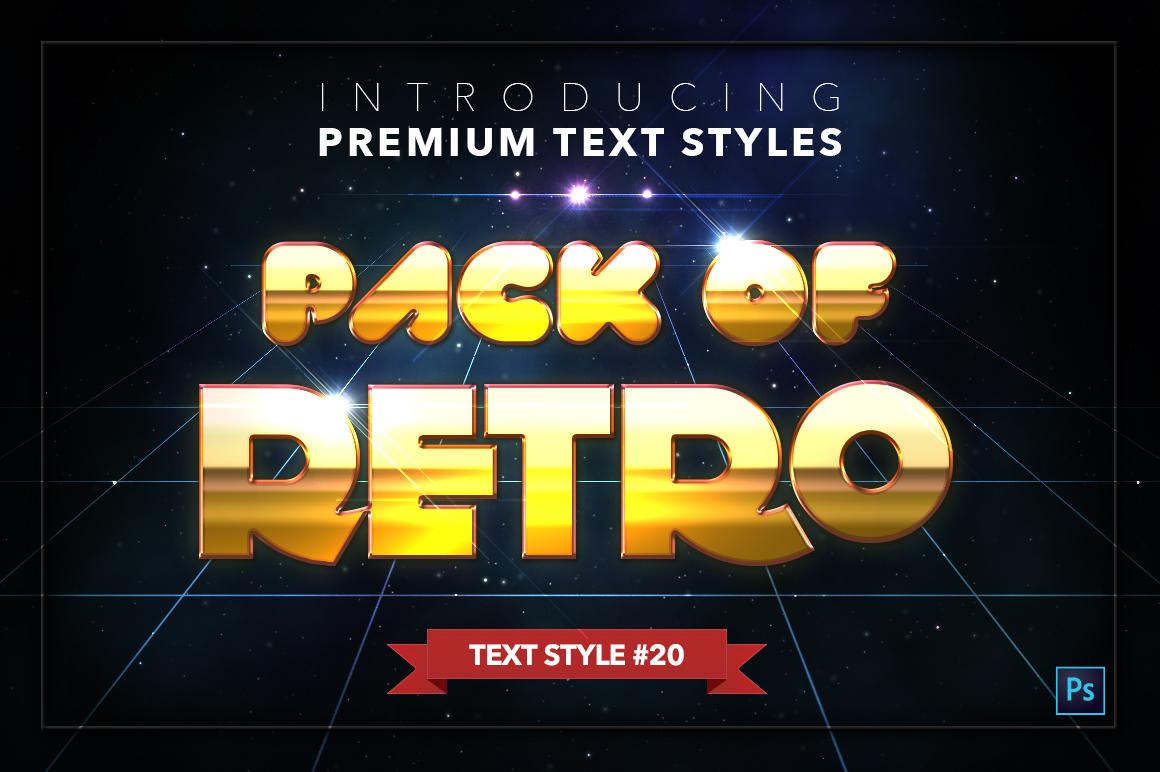 Retro #1 - 20 Text Styles example image 21