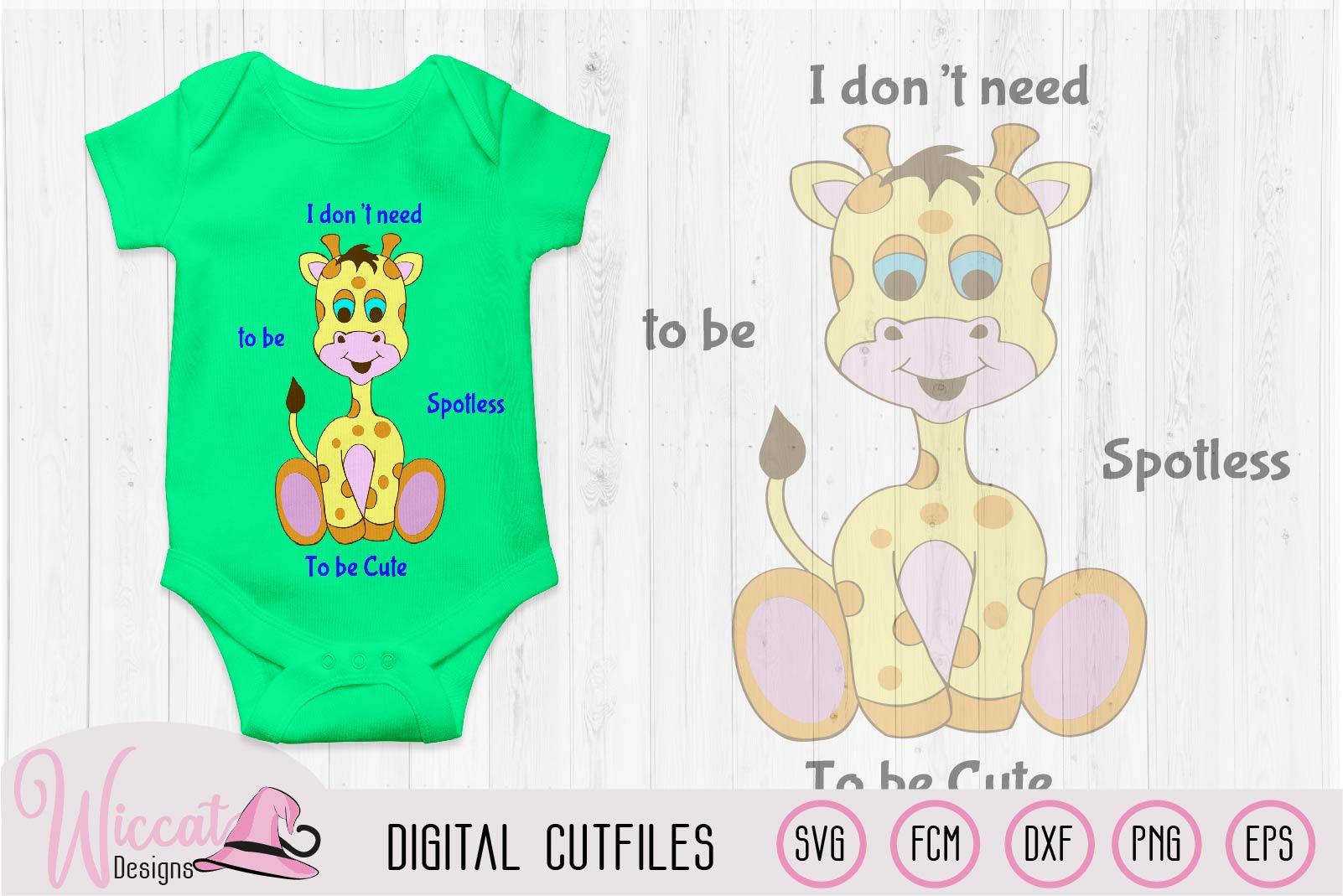 Boy Giraffe svg, Baby svg, svg files for boys, nursery svg, example image 1