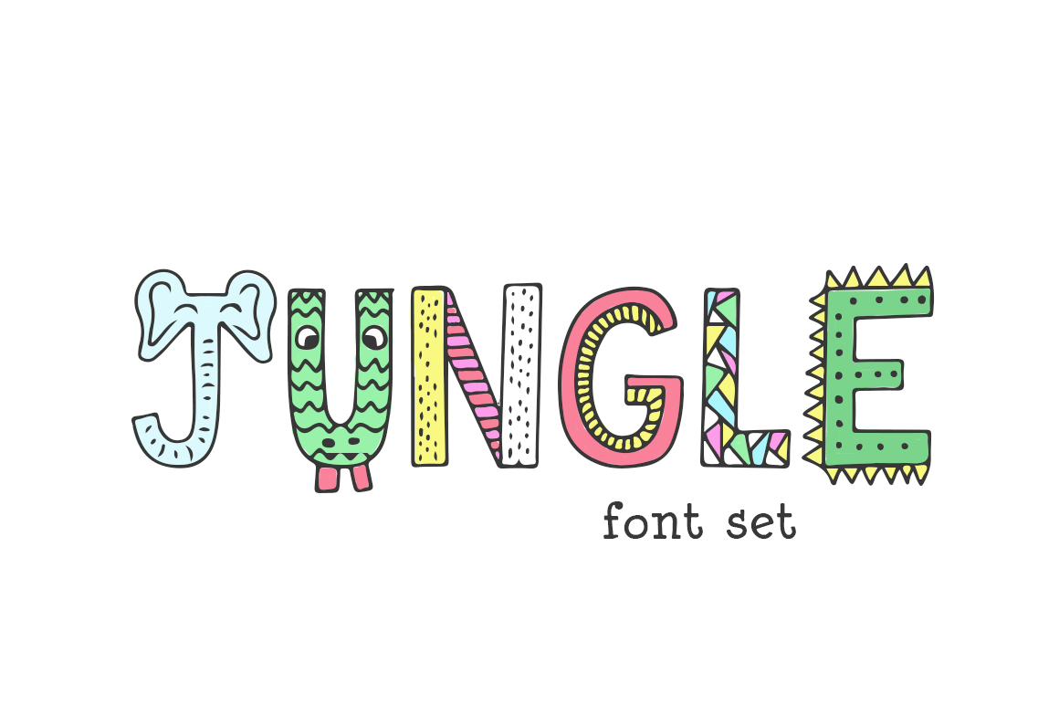 Jungle Font example image 1