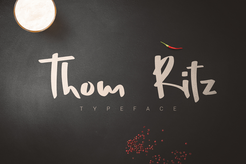 Thom Ritz Typeface example image 1