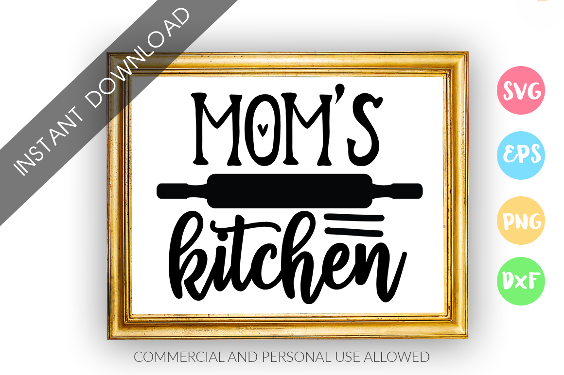 Moms kitchen SVG Design example image 1
