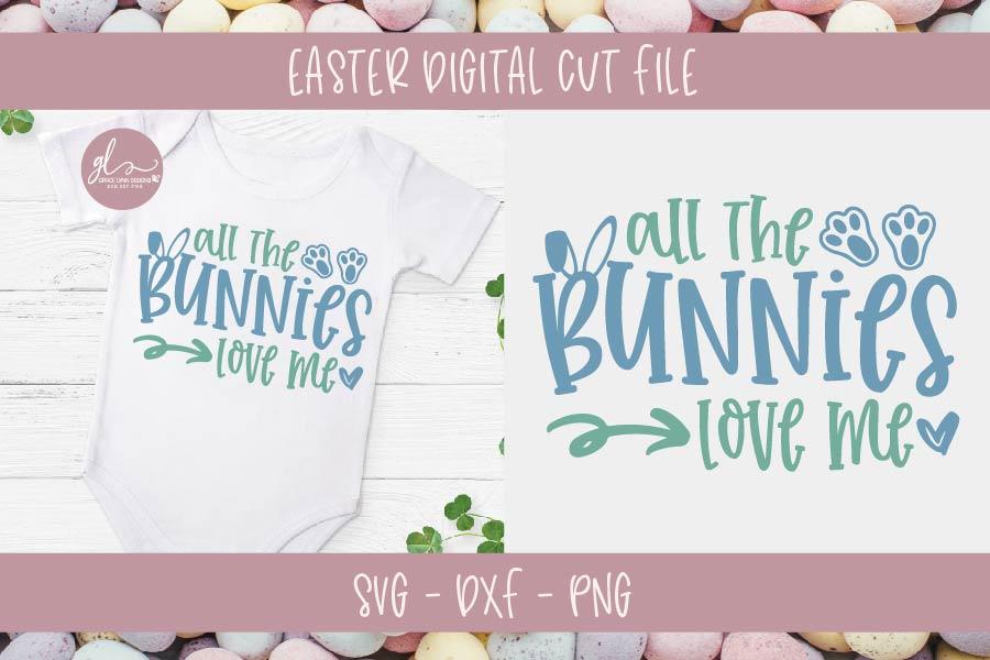 Easter Bundle Vol. 2 - 10 Easter Designs - SVG, DXF & PNG example image 4