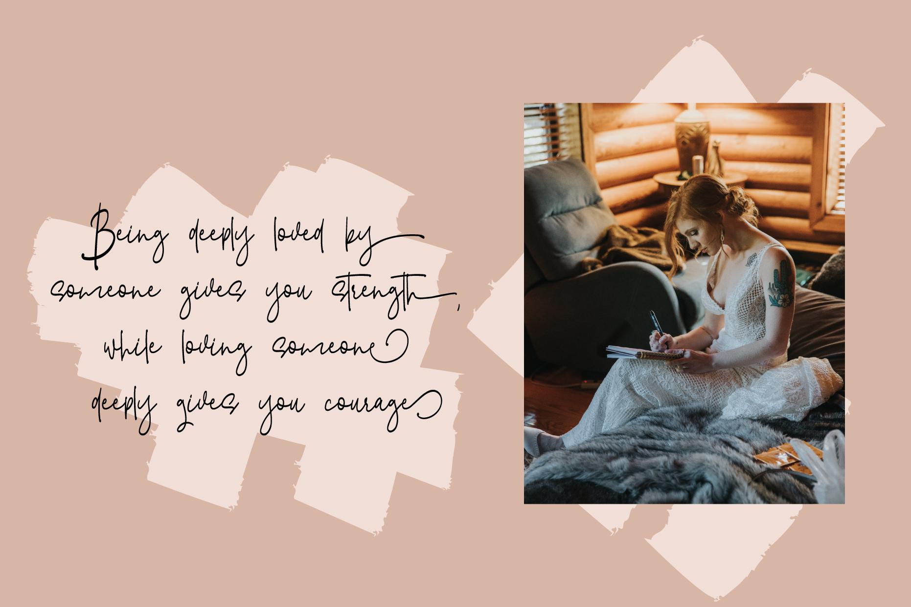 Hitterlove | Lovely Script example image 3