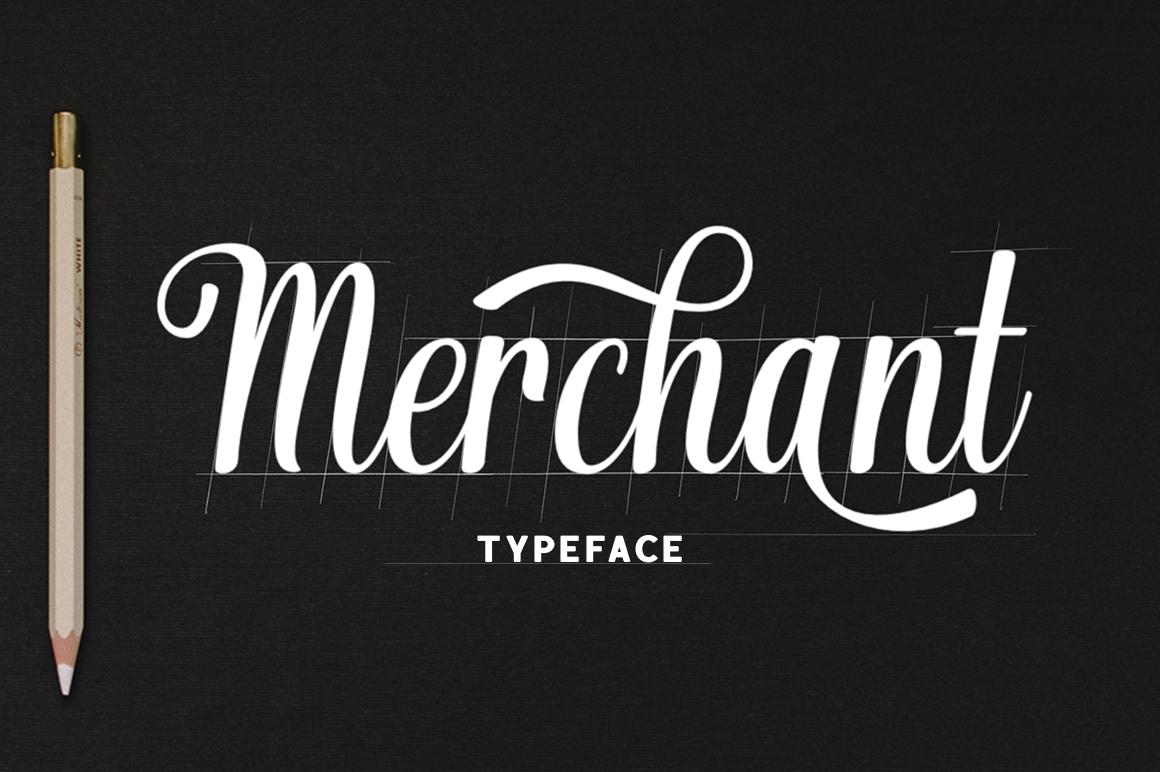 Merchant typeface example image 1