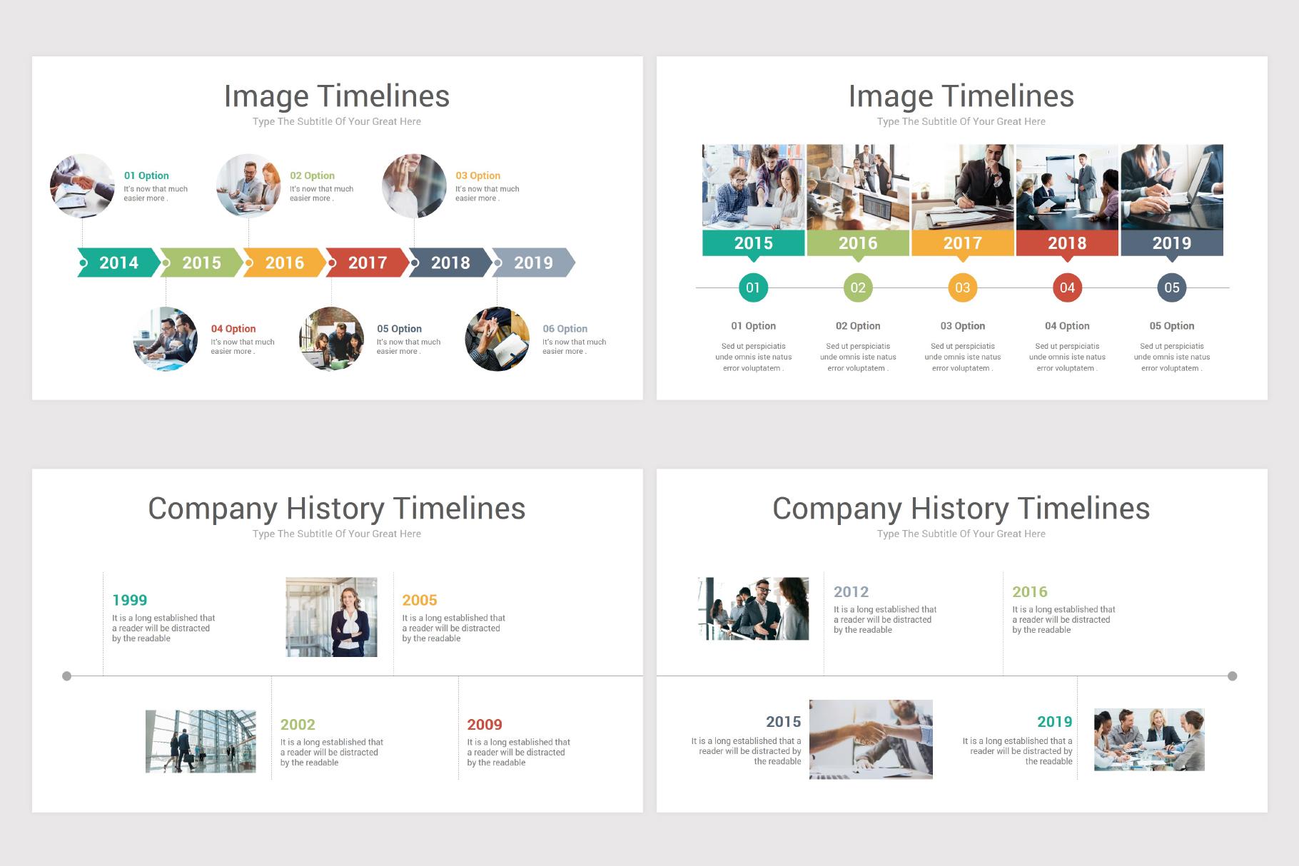 Keynote Timeline Infographics Pack-2 example image 13